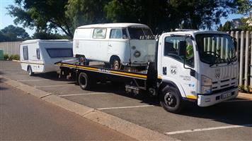 George, Bloemfontein to Gauteng. Trailer & Caravan Transport. Jurgens, Horsebox, Echo 4x4 and Boats.