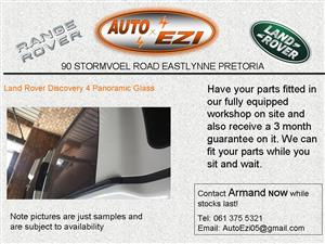 Land Rover Discovery 4 Panoramic Glass