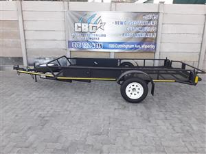 Double Quad or Flatbed trailer for sale