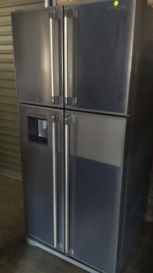 Silver 4 door fridge for sale