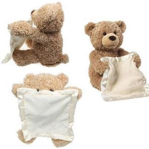 Plush Peek-A-Boo Teddy Bear