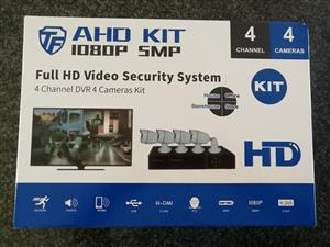 4 camera kitt with dvr