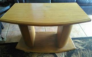 Light wooden table