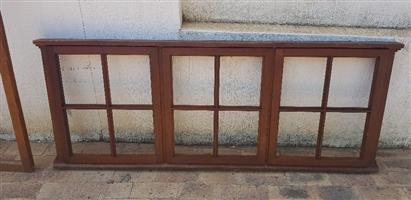 MERANTI TIMBER WINDOWS - Ex Builders Stock