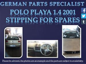 Polo Playa 1.4 2001 Stripping for Spares
