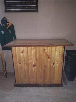 Light wooden bar for sale
