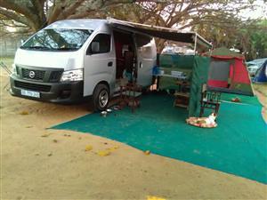 camping 2014 Nissan NV350 2.5lt Camper, Mobile home, outdoor leisure