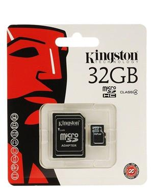 Kingston and SanDisk 32 GB SD Cards
