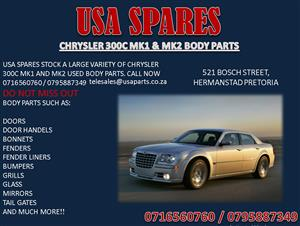 CHRYSLER 300C MK1 & MK2 USED BODY SPARES FOR SALE