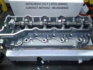 MITSUBISHI COLT 2.8 TDI (4M40) CYLINDER HEADS COMPLETE (BRAND NEW)