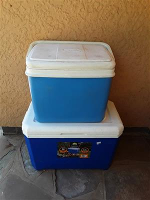 2 Cooler boxes for sale