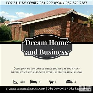 Dream home and business