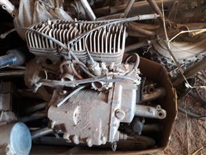Kawasaki KH250S1 motor