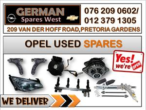 OPEL USED SPARES FOR SALE