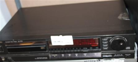 S034747A Technics cd player with no remote #Rosettenvillepawnshop