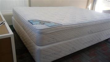 King coil double bed for sale