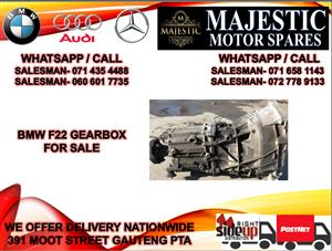 Bmw F22 gearbox for sale