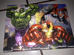 Marvel superhero puzzle for sale