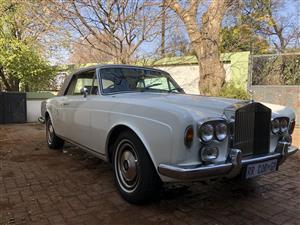Classic Car for Rent - Rolls Royce
