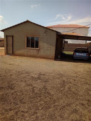 2BEDROOMS AT SOSHANGUVE EXT 13 WITH A BIG STAND