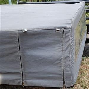 Cattle Frame with Canvas Canopy for Nissan Navara Kingcab