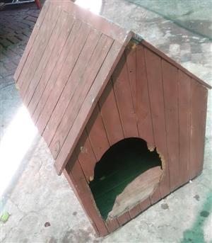 Dog cage = used