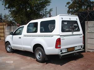 GAUTENG CANOPIES BRAND - TOYOTA HILUX VVT/D4D HIGH LINER WHITE BAKKIE CANOPY FOR YOU!!!