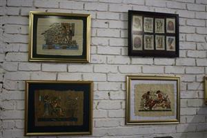 Egyptian framed paintings for sale