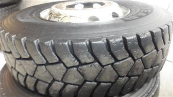 315 and 12R Second Hand Tyres For Sale in Witbank.