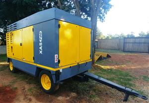 Atlas Copco 1500CFM / 10 Bar Diesel Compressor