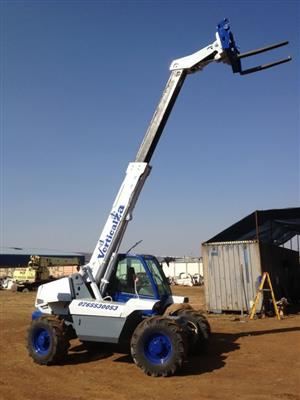 FORKLIFT Telehandler VerticalZA Manitou MT728-4 -, 2.8 ton 6.8m TELESCOPIC Handler