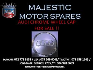 Audi chrome wheel caps for sale !!