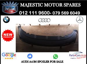 Audi A4 B6 boot spoiler for sale