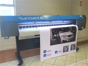 F-1867/ECO/DX7 FastCOLOUR 1860mm EPSON® DX7 Printhead Large-Format ECO Solvent Ink Inkjet