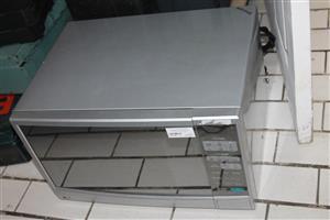 Silver microwave S033190a #Rosettenvillepawnshop