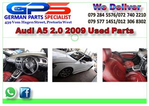 AUDI A5 2.0 TFSI 2009 USED PARTS FOR SALE