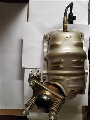 HONDA BRIO Catalytic converter with O2 sensor.