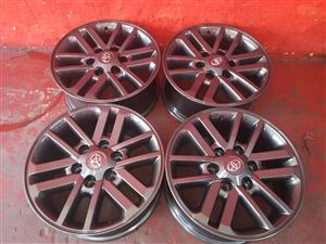 fortuner/toyota hillux mag rims for sale