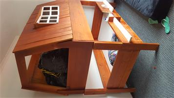 Wooden single bed bunks for sale