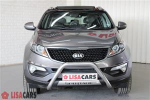 2014 Kia Sportage 2.0CRDi AWD auto