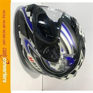 various bike helmets ranging from R300 to R2000