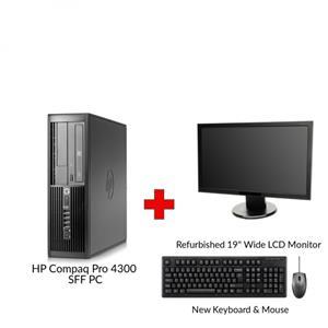 HP Compaq Pro 4300 Core i3 Gen 3 SFF PC
