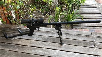 Crosman 2240 (Upgraded to rifle)