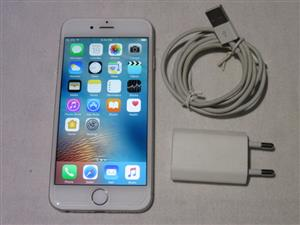 Apple iphone 6 16GB White and Silver