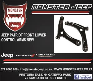 Jeep Patriot Lower Control Arms