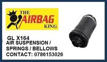 X164 GL Air suspension Rear Air Spring bag - Air spring - air bellow - mercedes gl X164