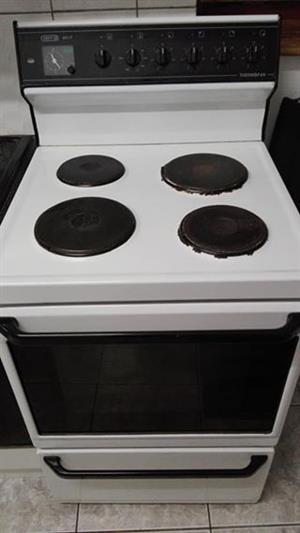 Defy 621 stove 4 plate thermo oven