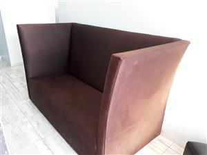 Brown retro couch for sale