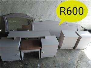 White bedroom set for sale