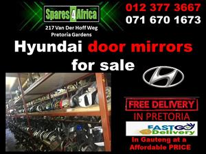 Hyundai door mirrors used spares and parts for sale